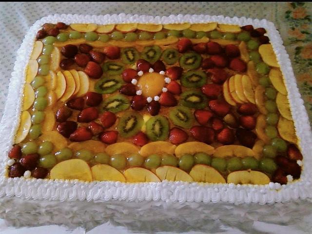 1torta de frutas